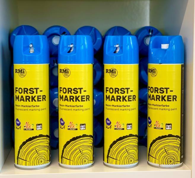 RMiTec Forstmarkierspray 'Forest-Marker' 500ml NEONBLAU