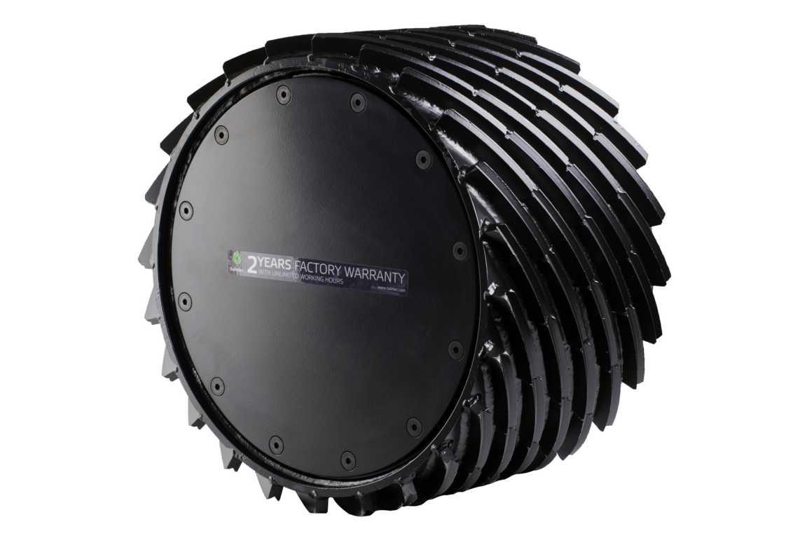 Entrindungswalze Logmax 7000 / Komatsu S172 EUCA links/rechts