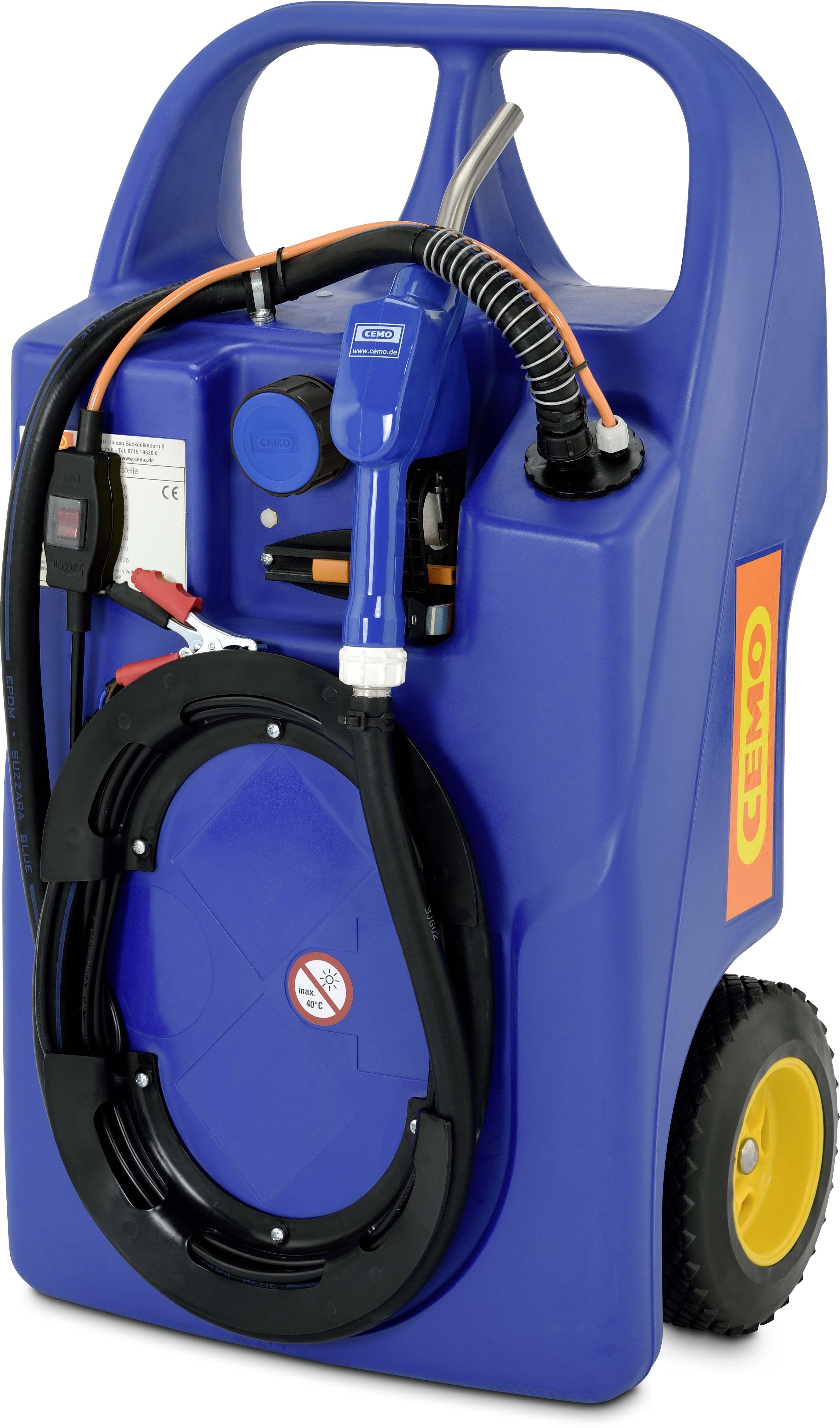 CEMO Trolley für AdBlue®, 60 l