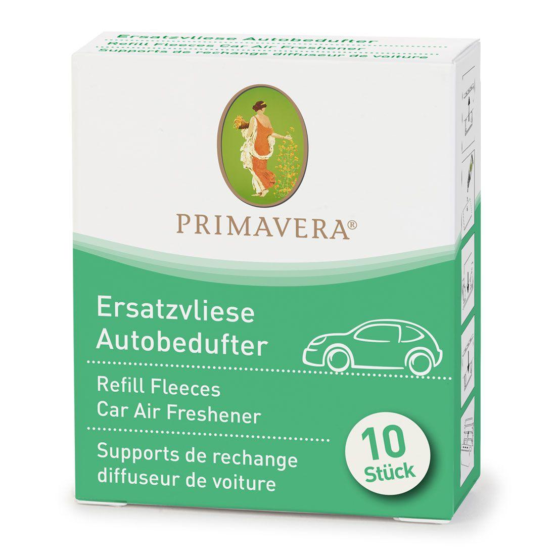 PRIMAVERA Ersatzvliese für Fahrzeug-Innenraum-Bedufter 10 Stck.