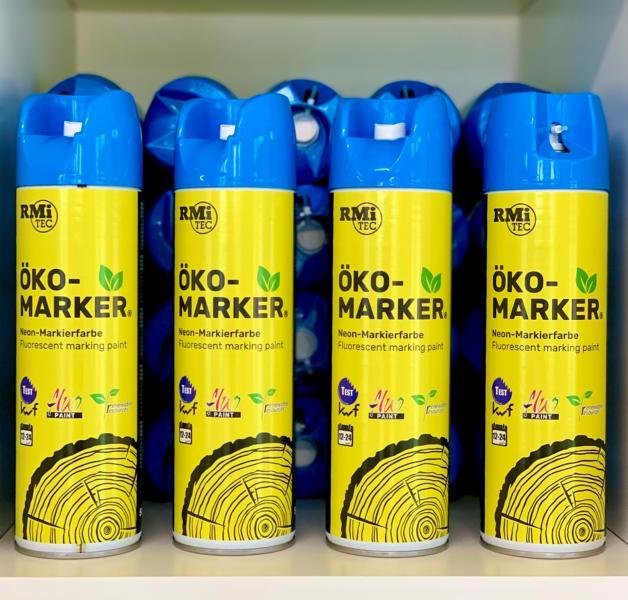 RMiTec Forstmarkierspray 'Öko-Marker' 500ml NEONBLAU