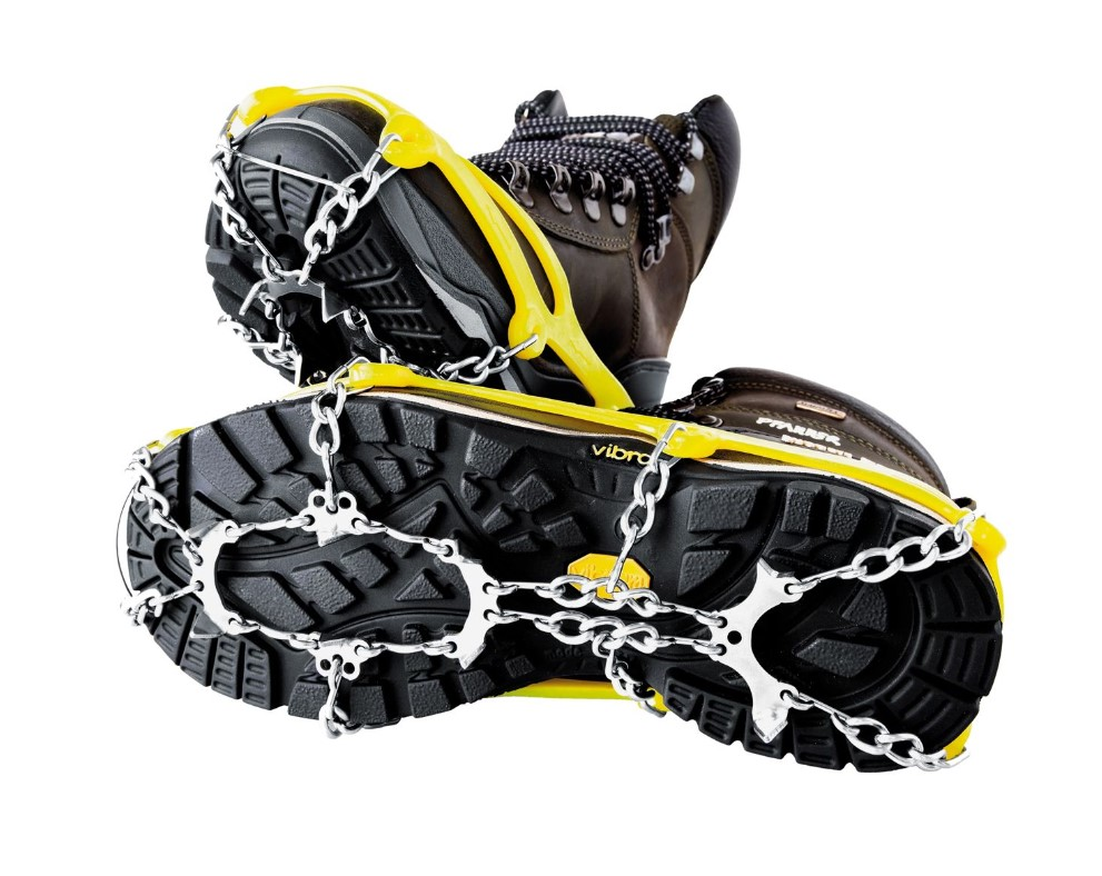Pfanner Universal-Schneeketten mit Spikes für Schuhe