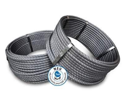 Verdichtete Stahlseile für Winden & Seilkräne