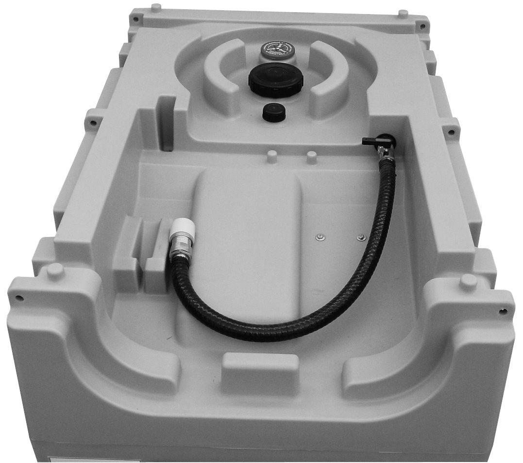 Generatortank DT-Mobil Easy mit ADR-Zulassung 460 l