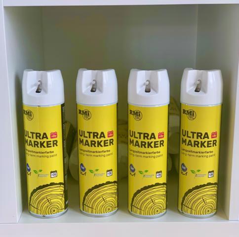RMiTec Forstmarkierspray 'Ultra-Longtime-Marker' 500ml weiß