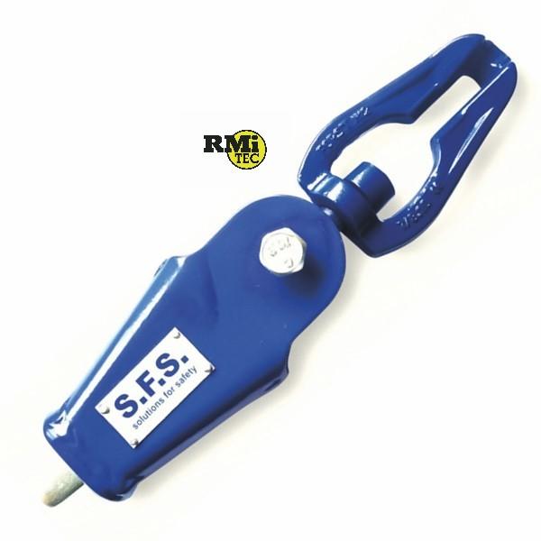 Seilendstück SEL 08 für Durchmesser 8-12mm mit Wirbellasche