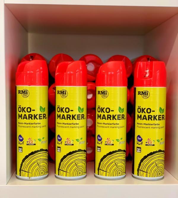 RMiTec Forstmarkierspray 'Öko-Marker' 500ml NEONROT