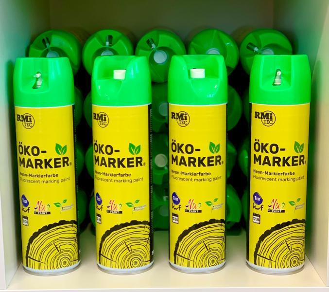 RMiTec Forstmarkierspray 'Öko-Marker' 500ml NEONGRÜN